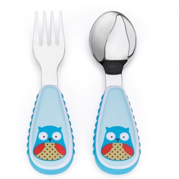 Set tenedor & cuchara Owl