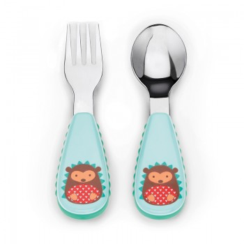 Set tenedor & cuchara Hedgehog