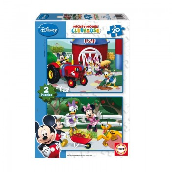Puzzle 2x20 Mickey Mouse Club House