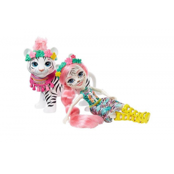 Muñeca Enchantimals Tigre Blanco
