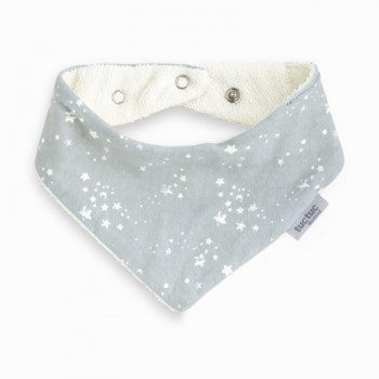 Babero bandana Weekend Constellation gris