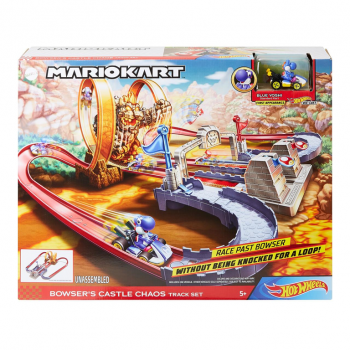 Pista Hot Wheels Mario Karts