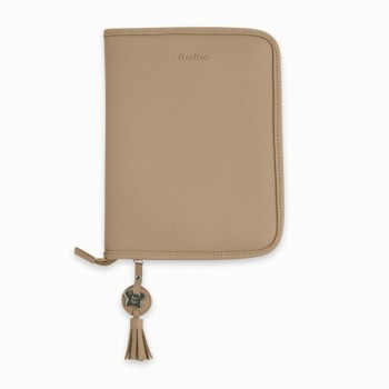 Porta Documentos Polipiel Love C. beige