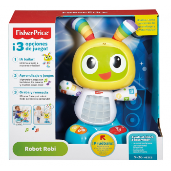 Robot Robi Fisher price canciones