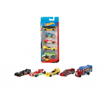 Coche Hot Wheels pack 5 coches