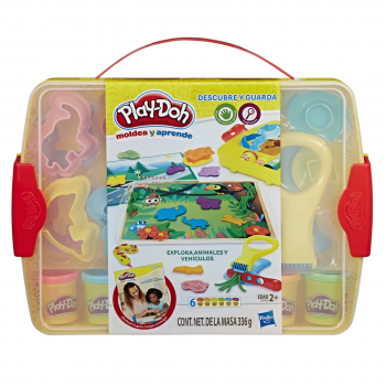 PlayDoh crea, aprende y guarda